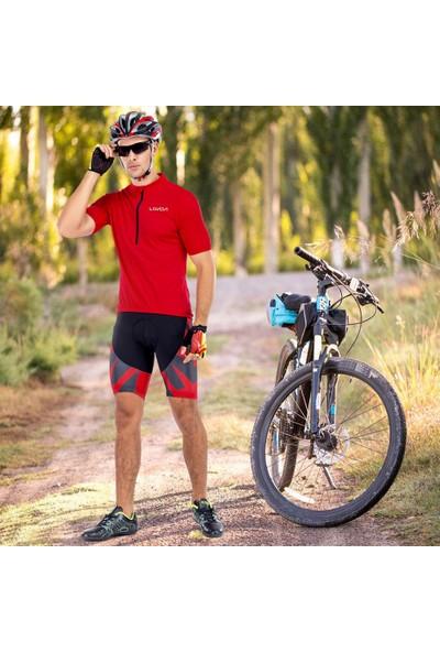 Lixada Erkek Bisiklet Forması Nefes Hızlı Kuru Bisiklet