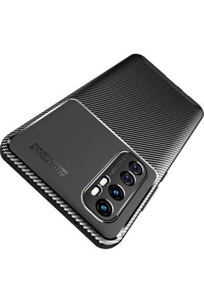 Teleplus Xiaomi Mi Note 10 Lite Kılıf Negro Karbon Silikon Siyah