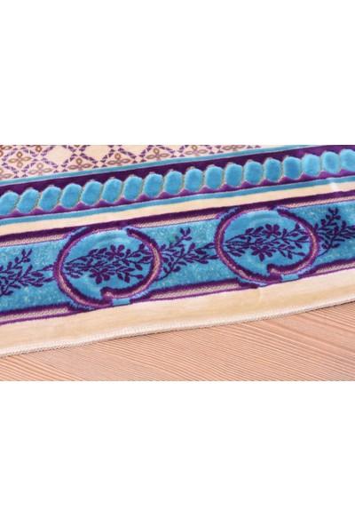 Halı Special Mavi Luxury Kadife Seccade - HS9430