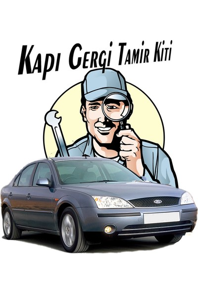 Barrer Ford Mondeo Kapı Gergi (Limitör) Tamir Kiti 2000-2007 (2 Kapı Set)