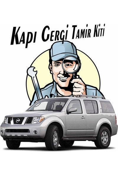 Barrer Nissan Pathfinder Kapı Gergi (Limitör) Tamir Kiti 2005-2010 (2 Kapı Set)