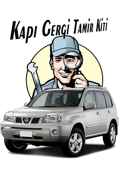 Barrer Nissan X-Trail T30 Kapı Gergi (Limitör) Tamir Kiti 2000-2007 (2 Kapı Set)