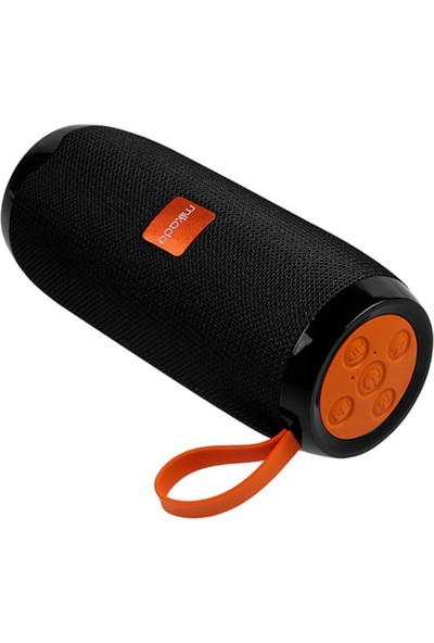 Mikado MD-BT56 Siyah Bluetooth-Usb -Aux -TF Card 3.7V 1200mAh Taşınabilir Speaker