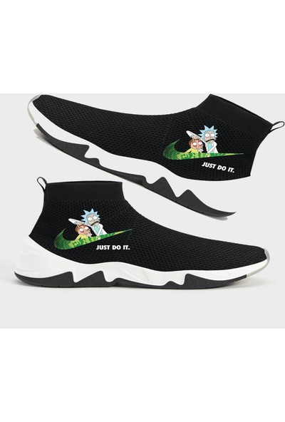 Art Fashion Rick Do It Çorap Formlu Sneaker Ayakkabı