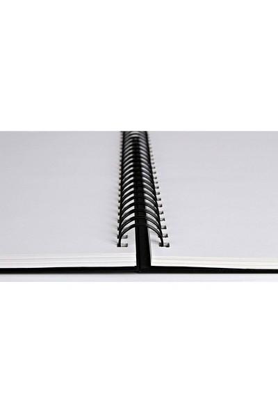 Canson Mix Media Art Book Spiralli 224G 40 Yaprak 17,7X25,4