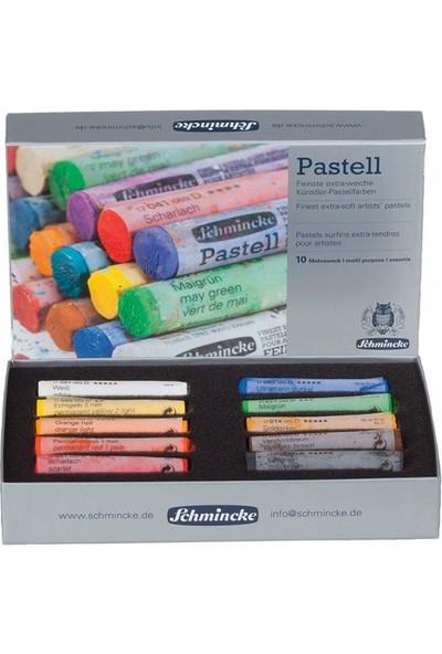 Schmincke Soft Pastel Boya Seti Cardboard 10LU