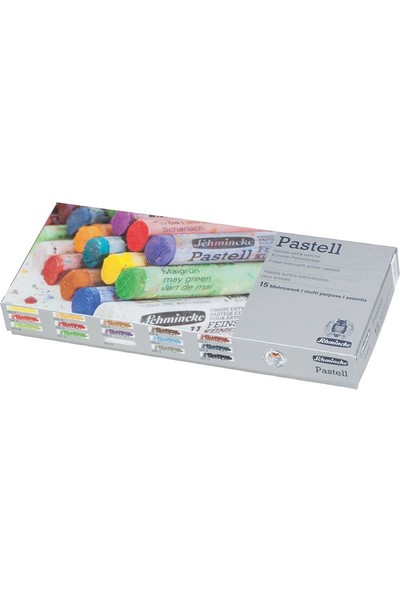 Schmincke Soft Pastel Boya Seti Cardboard 15LI