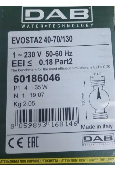 Dab Evosta2 40-70/130 Sirkülasyon Pompası