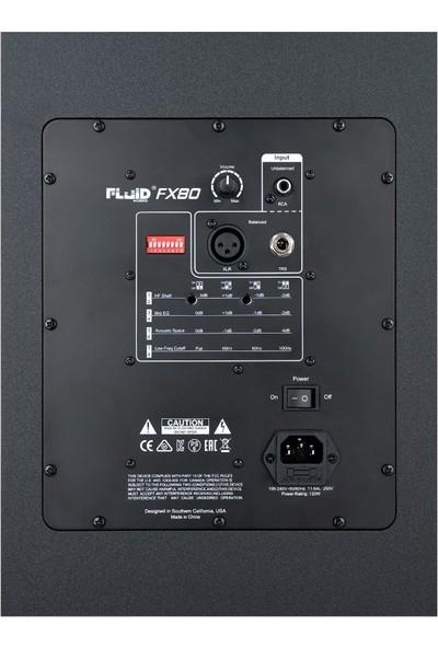 """Fluid Audio FX80 8"""" Aktif Stüdyo Monitörü (Tek)"""