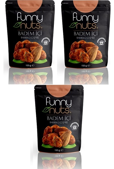 Funny Nuts Barbekü Çeşnili Badem Içi 150 gr