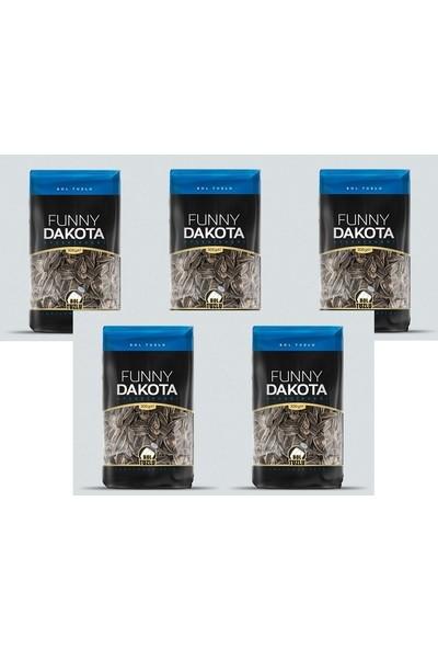 Funny Nuts Dakota Ay Çekirdeği Bol Tuzlu 200 gr x 5'li