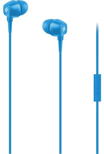 Ttec Pop Mikrofonlu Kulakiçi Kulaklık - Mavi - 2KMM13M