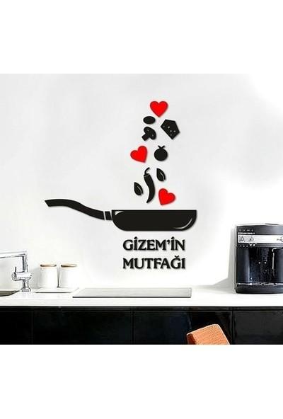 Akdeniz Reklam Isme Özel Ahşap Mutfak Dekoratif Duvar Süsü