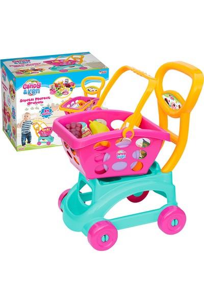 Dede Candy & Ken Sepetli Market Arabası