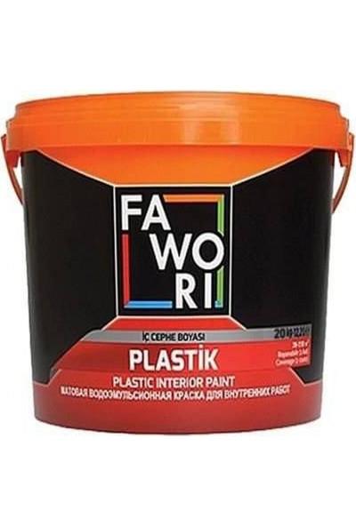 Fawori Plastik İç Cephe Duvar Boyası 20 kg