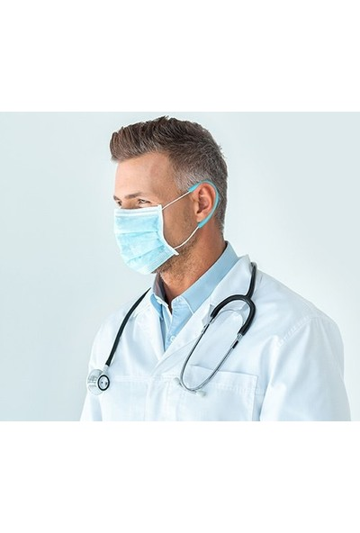 Mtv Maske Kulak Koruyucu Aparat 10 Takım 20 Adet