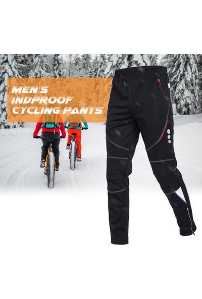 Buyfun Erkek Bisiklet Pantolon Atletik Pantolon Rüzgar Geçirmez
