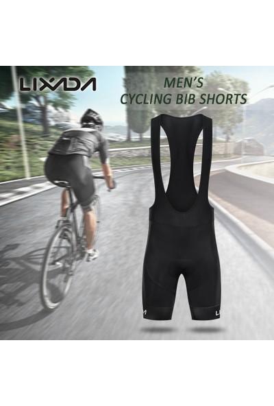Lixada Erkekler Bisiklet Önlüğü Şort Hızlı Kuru Mesh
