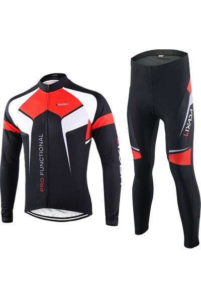 Lixada İlkbahar Sonbahar Bisiklet Giyim Seti Spor Takım