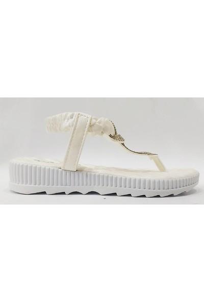 Cassy 2806 Parmak Arası Trend Çocuk Sandalet
