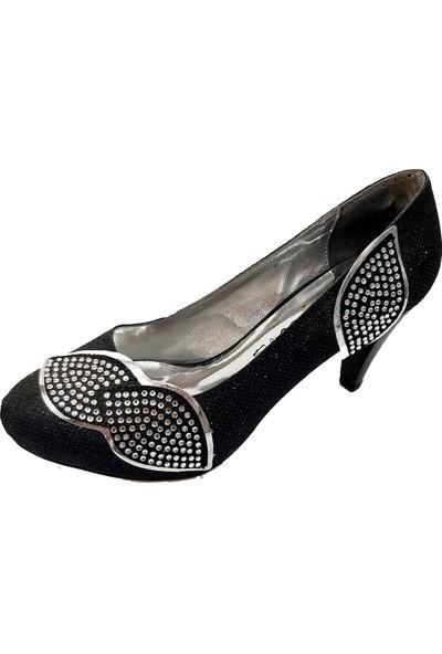 Jena 31106 Topuklu Abiye Kadın Ayakkabı