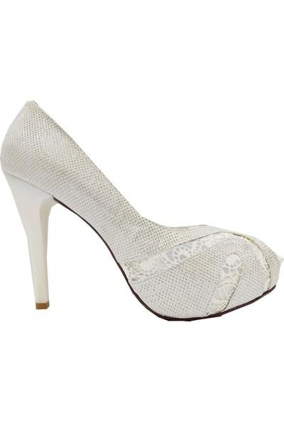 Jena 31114 Platform Trend Fashion Abiye Ayakkabı