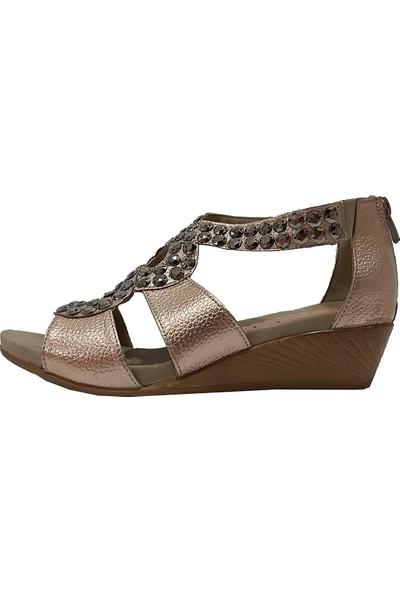 Sms 1502 Taşlı Kadın Sandalet