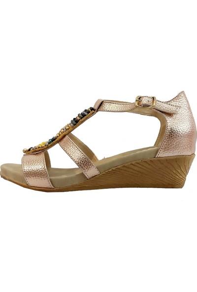 Sms 1516 Taşlı Kadın Sandalet