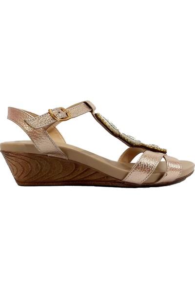 Sms 1518 Taşlı Kadın Sandalet