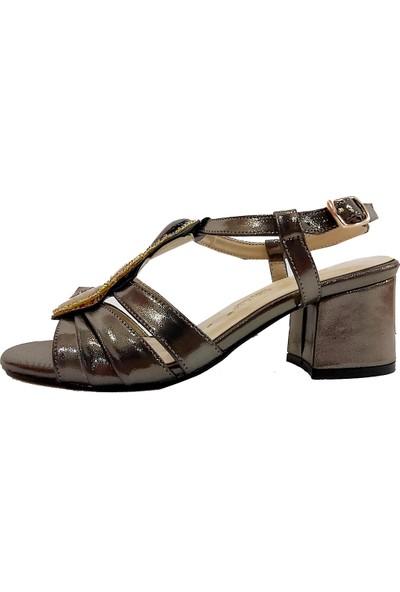 Sms 3015 Dolgu Topuklu Kadın Sandalet