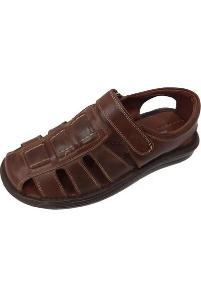 Sultan 214 Deri Hafif Erkek Sandalet
