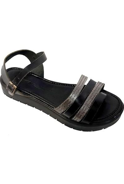 Vural 309 Deri Parmak Arası Kadın Sandalet