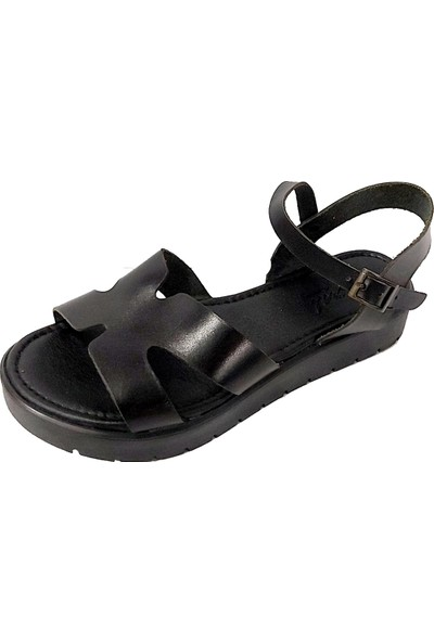 Vural 320 Deri Trend Kadın Sandalet