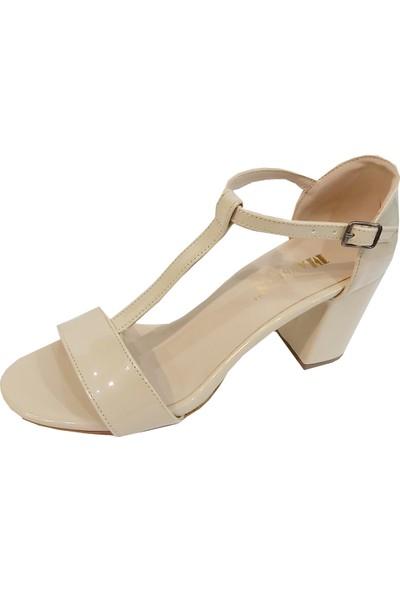 Gizem 2417 Platform Topuklu Kadın Sandalet