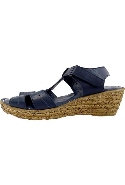 Hisaş 410 Deri Kadın Sandalet