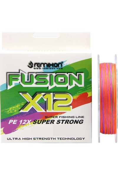 Remixon Fusion X12 Multicolor Ip Olta Misinası 150 mt