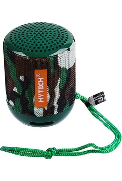 Hytech HY-S39BT Kamuflaj Desenli Bluetooth-Usb -TF Card 3.7V 400 mAh Taşınabilir Speaker