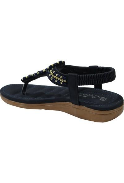 Guja 20Y150-7 Lacivert Comfort (36-41) Parmak Arası Kadın Sandalet