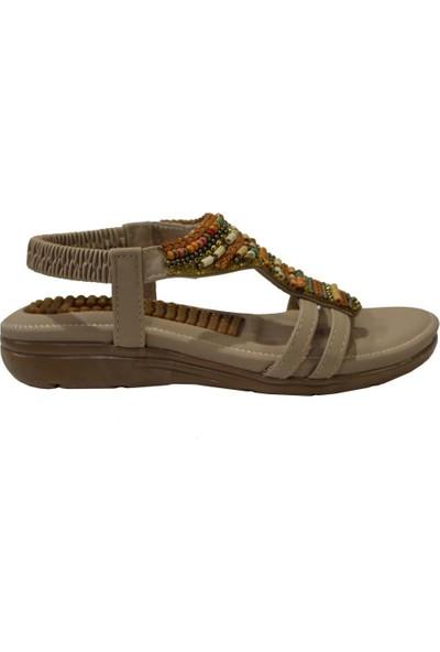 Guja 20Y231 Bej Comfort (36-41) Kadın Sandalet
