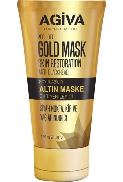 Agiva Soyulabilir Altın Maske 150ML