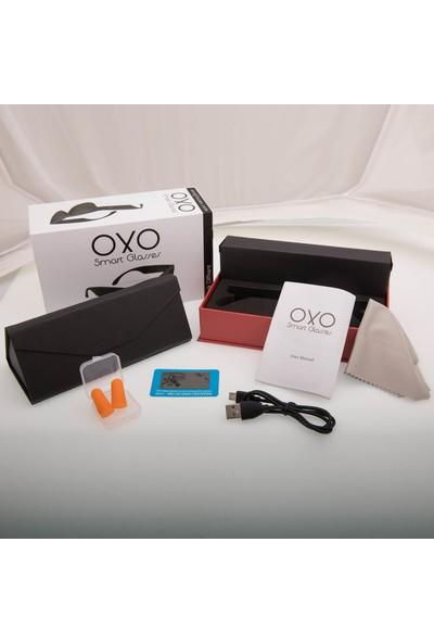 OxO Akıllı Güneş Gözlüğü RUBY (Siyah Cam)