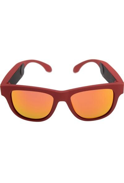 OxO Akıllı Güneş Gözlüğü RUBY (Kırmızı Cam)