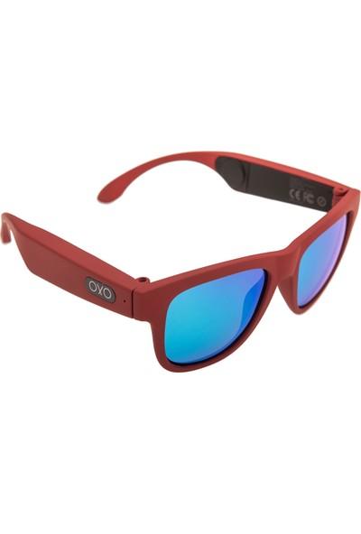 OxO Akıllı Güneş Gözlüğü RUBY (Mavi Cam)