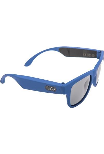 OxO Akıllı Güneş Gözlüğü NAVY (Siyah Cam)