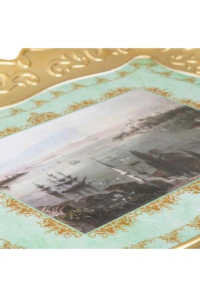 Emsan Nostalji Gold Tepsi 35 x 46 cm