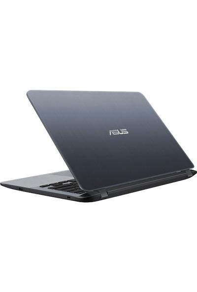 "Asus X407MA-BV016T Intel Celeron N4000 4GB 500GB Windows 10 Home 14"" Taşınabilir Bilgisayar"