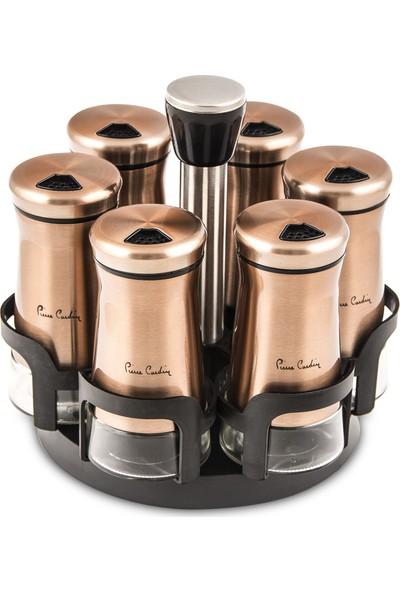 Pierre Cardin Lessy Baharat Setı 6'lı Copper