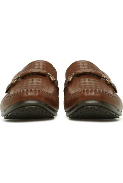 Divarese Erkek Kahverengi Loafer