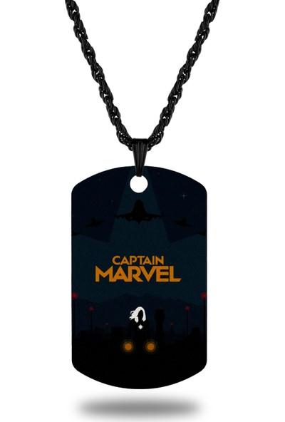 Apptakı Kaptan Marvel Kolye - CAZ0067