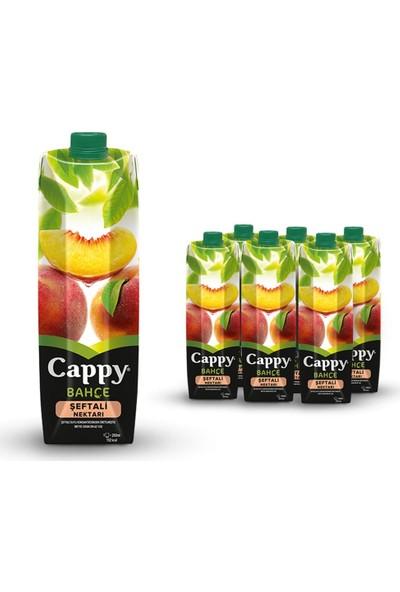 Cappy Şeftali Tetra 1 Lt 6'lı Paket